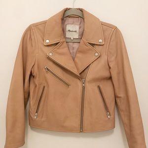Madewell Leather Moto Jacket